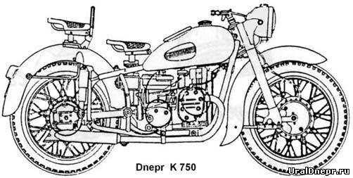 Днепр к-750