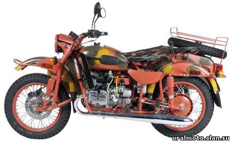 Мотоцикл Урал ИМЗ-8.1037 GEAR-UP