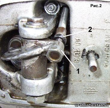 Регулировка клапанов на мотоцикле Днепр МТ 10, МТ 10-36 и т.п.