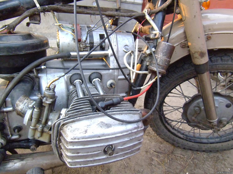 катушка зажигания от оки на Мотоцикл Урал #9
