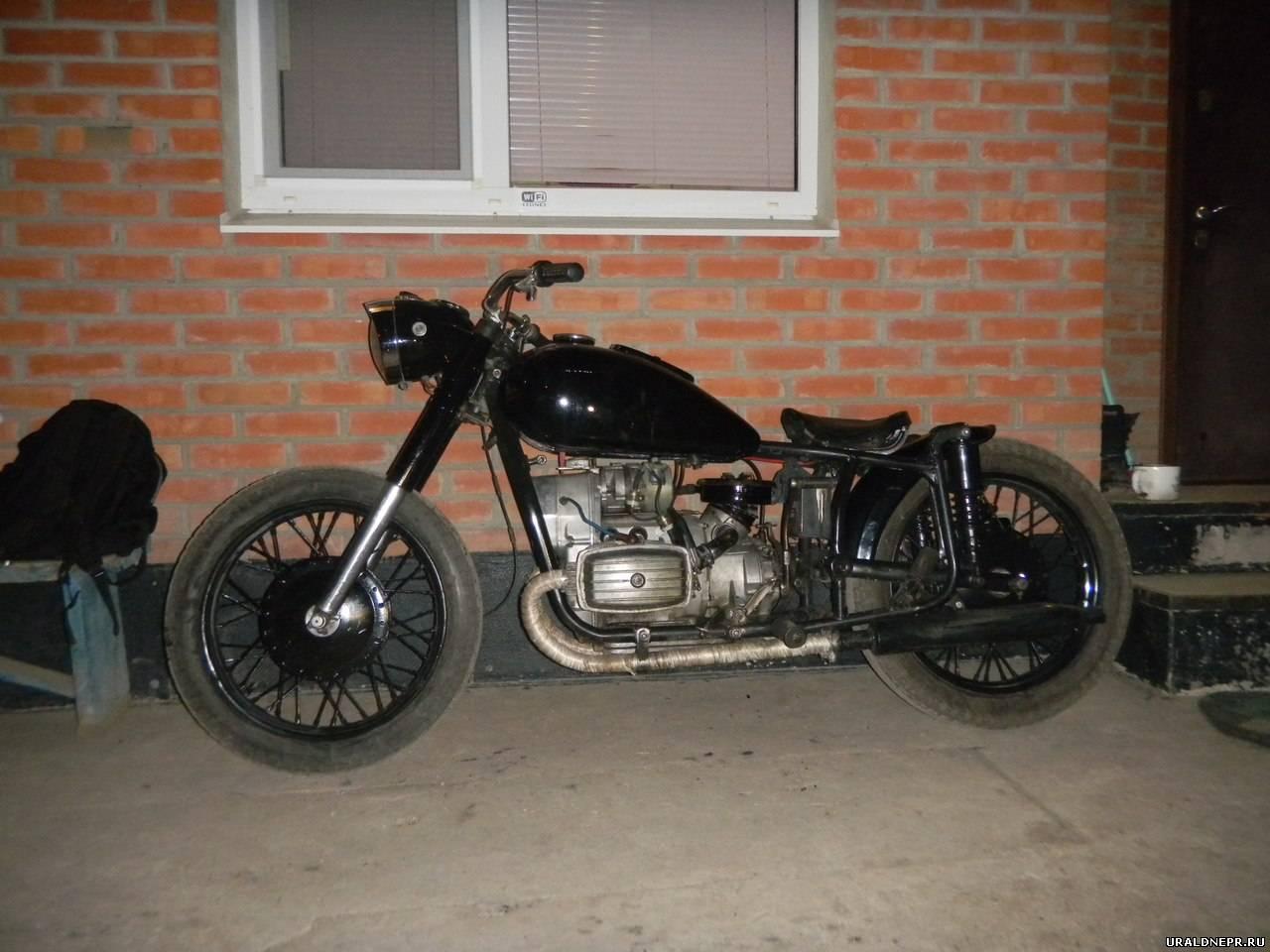 Фото тюнинга мотоцикла урал своими руками