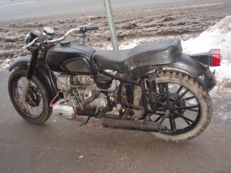 слабая искра на Мотоцикле днепр #4