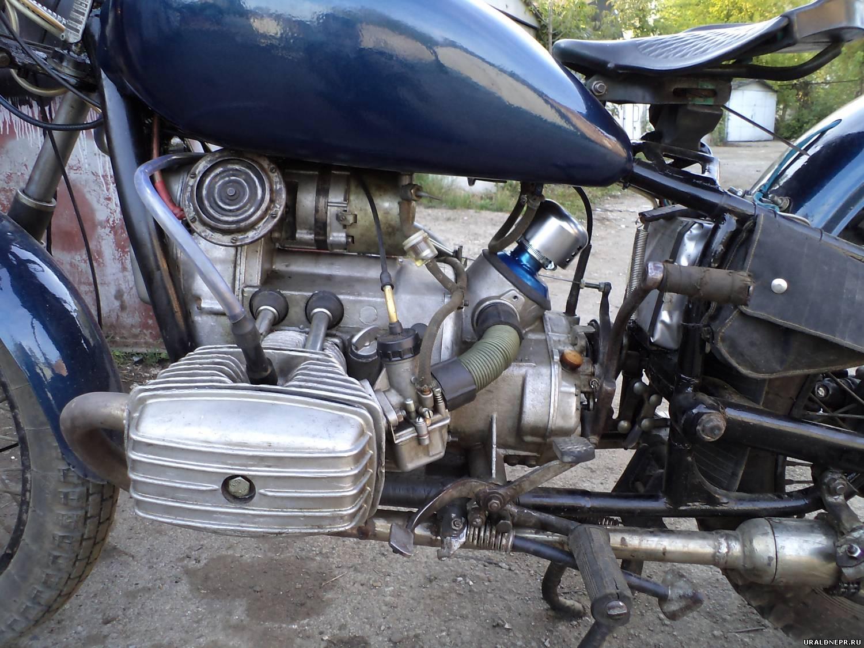 Как сделать фильтр на мотоцикл урал