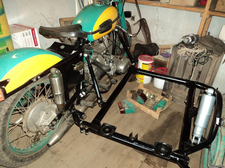 Тюнинг мотоцикла урал с коляской своими руками 65