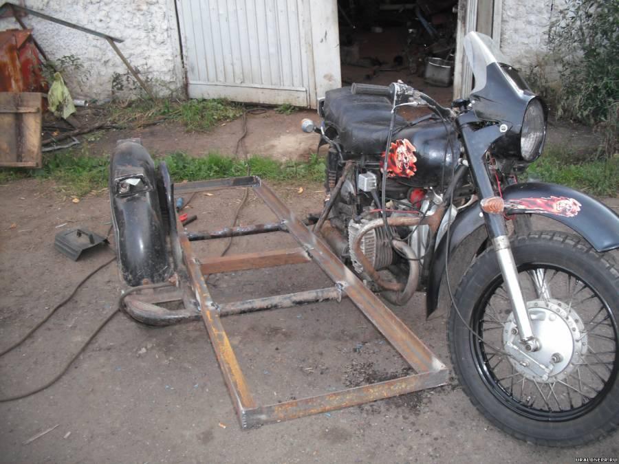 Прицепное устройство для мотоцикла урал своими руками 95