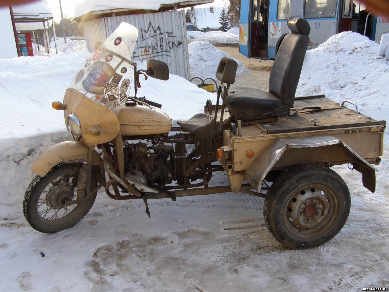 Трицикл своими руками мотоцикл урал 34