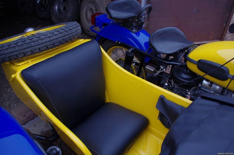 Сиденье в коляску урал
