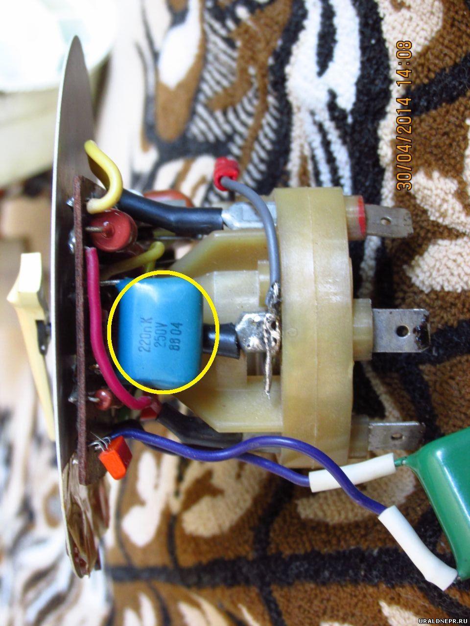 схема подключение электронного зажигания днепр