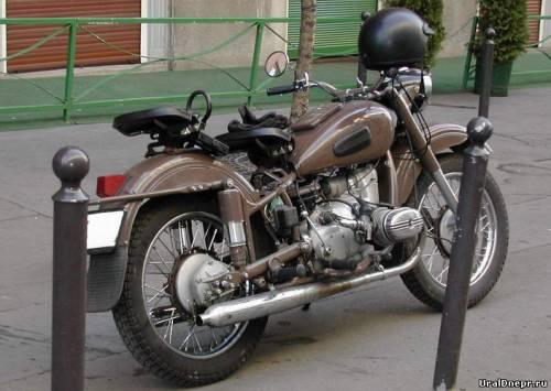 Мотоцикла м 63 мотоцикл урал м 63
