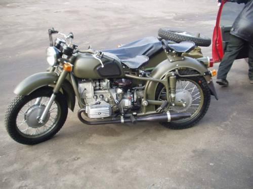 Мотоцикл днепр мв 650