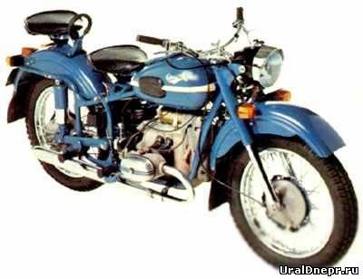 Мотоцикл Урал М-66 - - Мотогалерея - Мотоцикл Урал и Днепр